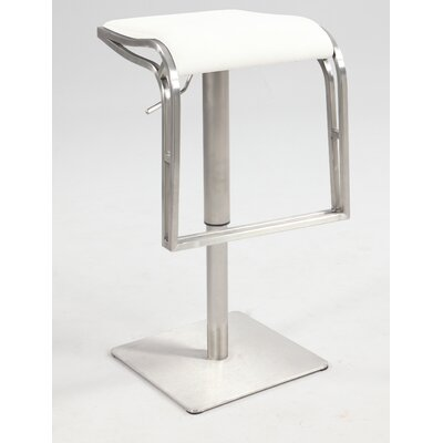 Chintaly Imports Backless Adjustable Height Stool