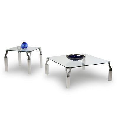 Chintaly Imports Soraya Coffee Table Set
