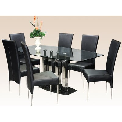 Chintaly Imports Cilla 7 Piece Dining Set