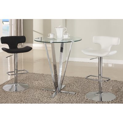 Chintaly Imports Cortland Counter Height Pub Table Set