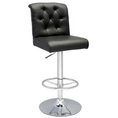 Chintaly Pneumatic Gas Adjustable Swivel Bar Stool