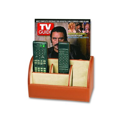 Budd Leather Men's Multimedia Desk Caddy
