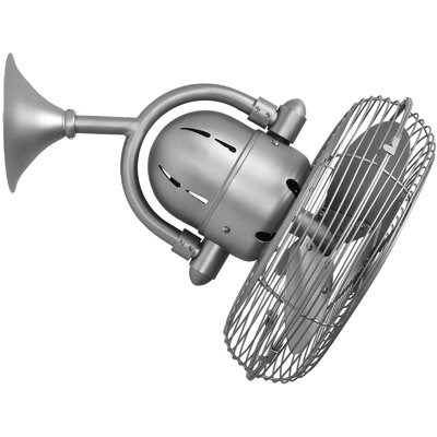 Matthews Fan Company Oscillating Wall Fan