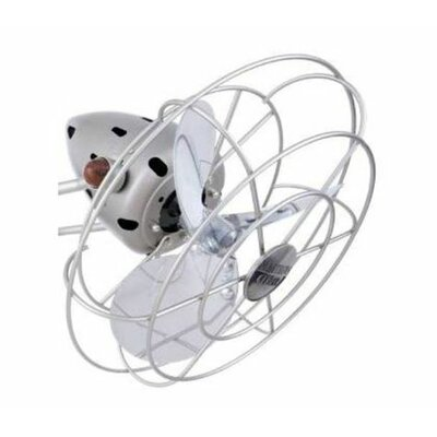 Matthews Fan Company Atlas Aluminum Fan Head with Decorative Cage
