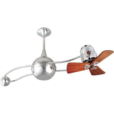 "Matthews Fan Company 40"" Brisa 2000 3 Wooden Blade Rotational Ceiling Fan"