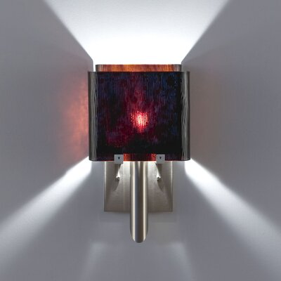 WPT Design Dessy1/6 1 Light Single Pane Wall Sconce