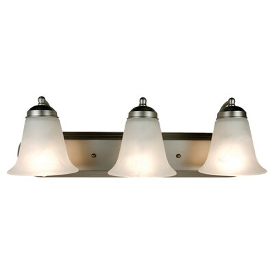 <strong>TransGlobe Lighting</strong> 3 Light Vanity Light