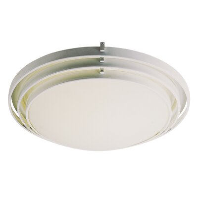 TransGlobe Lighting Indoor Fluorescent Flush Mount