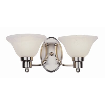 TransGlobe Lighting Contemporary 2 Light  Wall Sconce