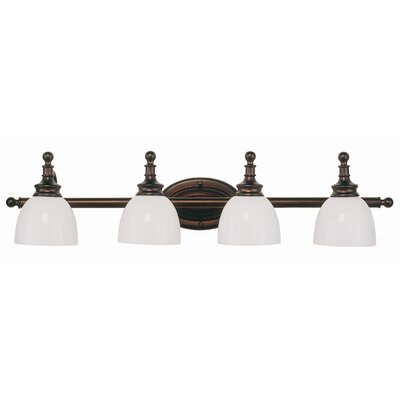 TransGlobe Lighting 4 Light Vanity Light