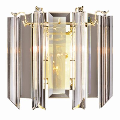 TransGlobe Lighting Back to Basics 2 Light Wall Sconce