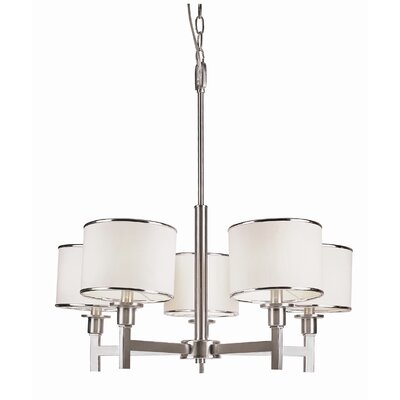 TransGlobe Lighting Cadence 5 Light Chandelier