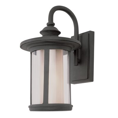 TransGlobe Lighting Tea Chimney Stack 1 Light Outdoor Wall Lantern
