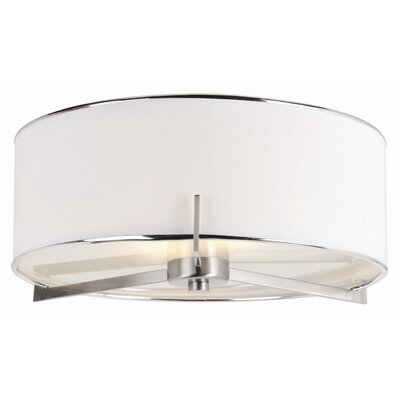 TransGlobe Lighting Cadence 2 Light Flush Mount