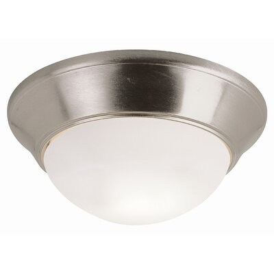 TransGlobe Lighting Energy Efficient Indoor 2 Light Flush Mount