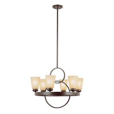 O Ranch Brand 6 Light Kitchen Island Pendant