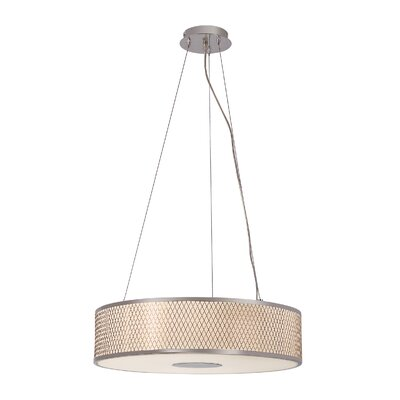 Diamond Grill 4 Light Pendant