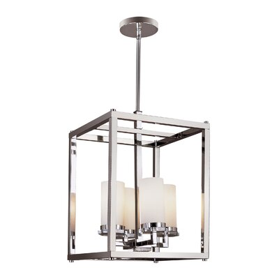 TransGlobe Lighting Pop Indie 4 Light Foyer Pendant