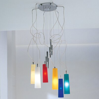Gamma Delta Group Stilo Six Light Up And Down Pendant