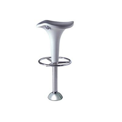 Rexite Zanzibar Bar Stool with Gas Lift Adjustable Height and Floor Fixing Joint