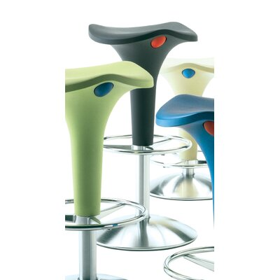 Zanzibar Bar Stool with Gas Lift Adjustable Height (Set of 2)