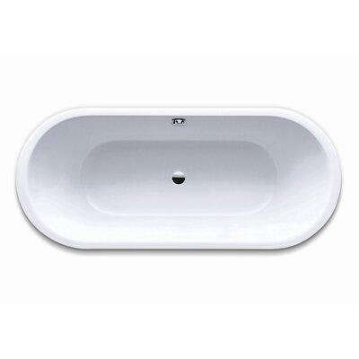 """Kaldewei Klassikduo 63"""" x 28"""" Oval Bathtub"""