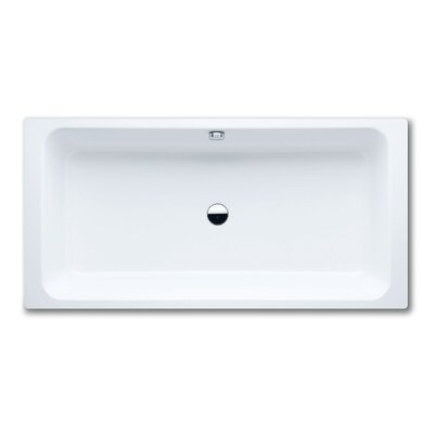 "Kaldewei Bassino 78.7"" x 39.4"" Bath Tub with Paneling in White"