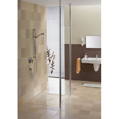 Kaldewei Cono-Flat Shower Base with Drain