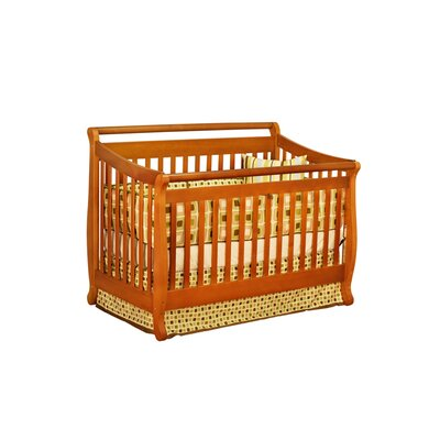AFG Furniture Amy 3-in-1 Convertible Crib Set with Toddler Rail