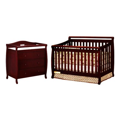AFG Furniture Amy 3-in-1 Convertible Crib Set