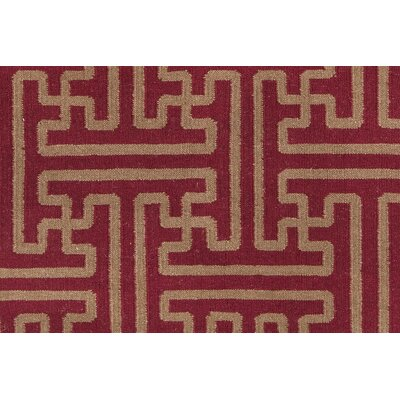 Smithsonian Rugs Archive Brick/Gold Rug