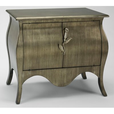 Aura Designs Handmade Cabinet in Antiqued Old World Silver