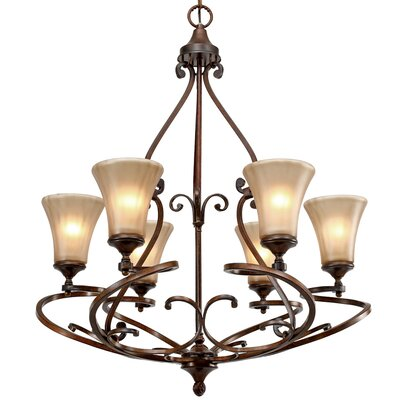 Loretto 6 Light Chandelier
