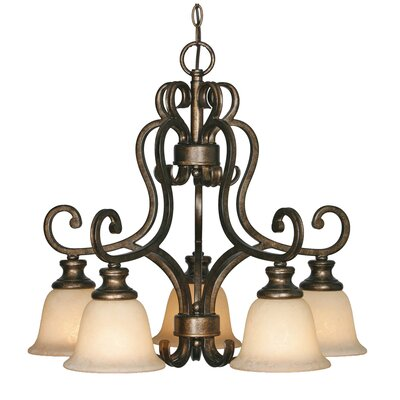 Heartwood 5 Light Chandelier