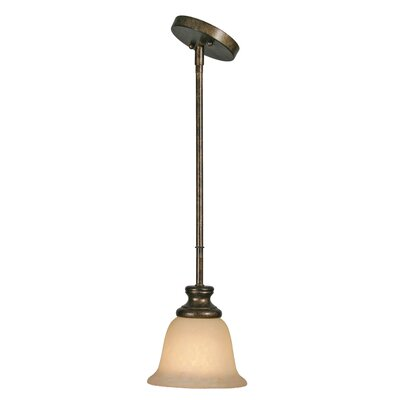 Heartwood 1 Light Mini Pendant