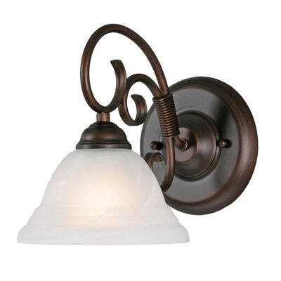 Golden Lighting Homestead Ridge 1 Light Wall Sconce