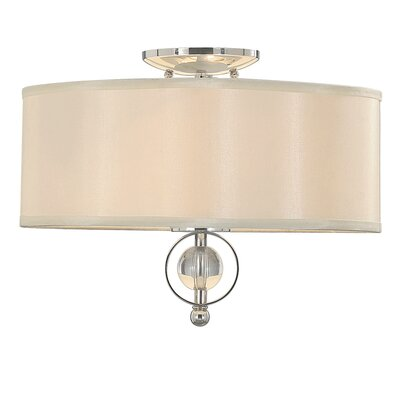 Cerchi 2 Light Flush Mount