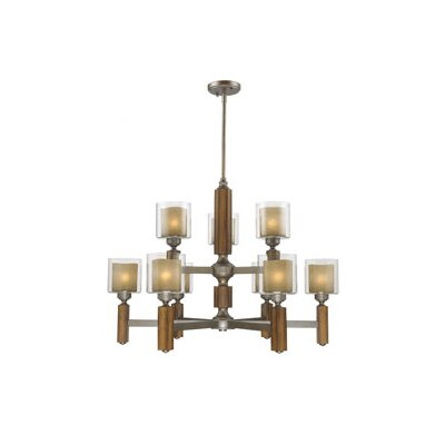 Zura 9 Light Chandelier