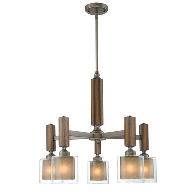 Zura 5 Light Nook Chandelier