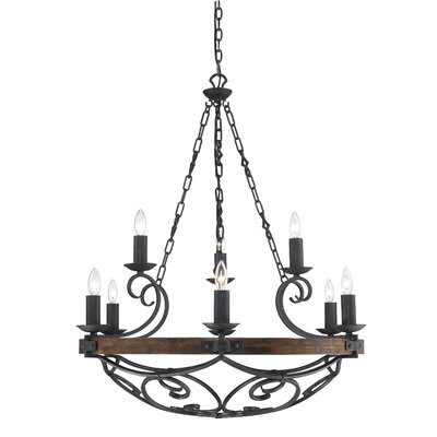 Madera 9 Light Chandelier