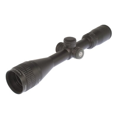 Panorama 3-9x40 AO Rifle Scope in Matte Black