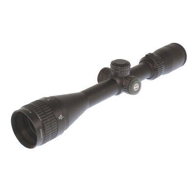Panorama 4-12x50 AO Rifle Scope in Matte Black
