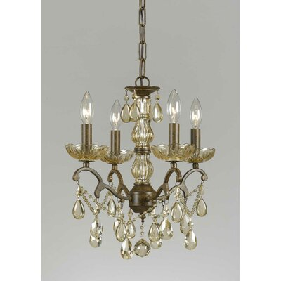 Versailles 4 Light Mini Chandelier