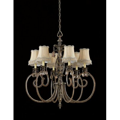 Triarch Lighting Mardis Gras 6 Light Chandelier
