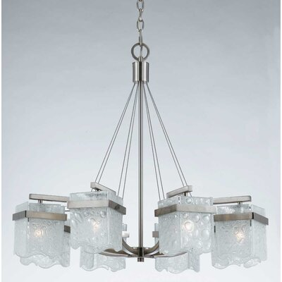 Triarch Lighting Arctic Ice 8 Light Chandelier