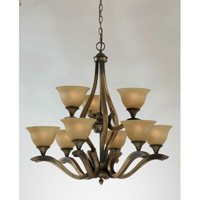 Triarch Lighting Value Series 230 9 Light Chandelier
