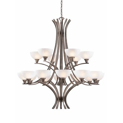 Triarch Lighting Luxor 18 Light Chandelier