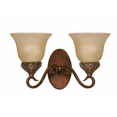 Triarch Lighting Crown Jewel 2 Light Wall Sconce