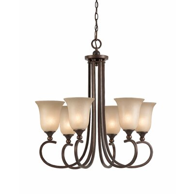 Triarch Lighting La Costa 6 Light Chandelier