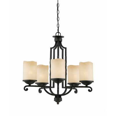 Triarch Lighting Granada 5 Light Chandelier